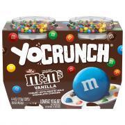 YoCrunch M&M's Vanilla Lowfat Yogurt