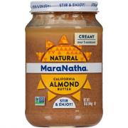 MaraNatha All Natural Roasted Almond Butter Creamy