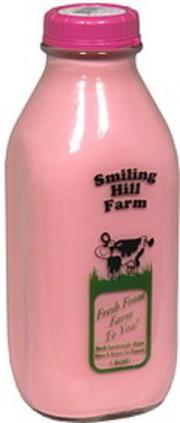 Smiling Hill Farm Strawberry Milk