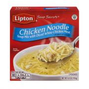 Lipton Chicken Noodle Soup w/Meat