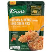 Knorr Ready To Heat Chicken & Herbs Flavored Long Grain Rice