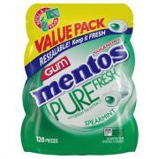 Mentos Pure Fresh Spearmint Sugar Free Gum