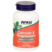 NOW Calcium Magnesium 500 250 mg