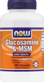 NOW Glucosamine & M.S.M.