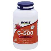NOW Vitamin C 500 mg Orange Chewables