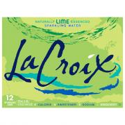 LaCroix Lime Sparkling Water