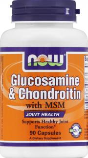 NOW Glucosamine & Chondroitin 500 mg