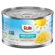 Dole Crushed Pineapple in Juice