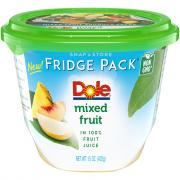 Dole Fridge Pack Mixed Fruit in Fruit Juice