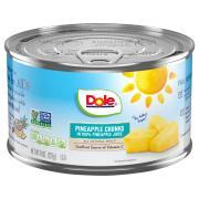 Dole Pineapple Chunks in Juice