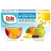 Dole Cherry Mixed Fruit No Sugar Added