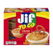Jif to Go Creamy Peanut Butter