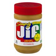 Simply Jif Creamy Peanut Butter