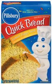 Pillsbury Lemon Poppy Quick Bread