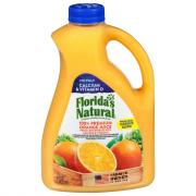 Florida's Natural No Pulp Orange Juice with Calcium