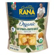 Rana Organic Spinach and Roasted Garlic Tortelloni