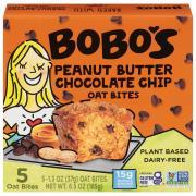 Bobo's Oat Bites Peanut Butter Chocolate Chip Oat Bites