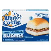 White Castle Microwave Hamburgers