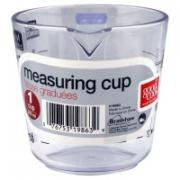 Good Cook Plastic 1-Cup Measuring Cup