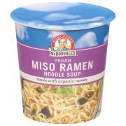 Dr. McDougall's Miso Noodle Soup Cup
