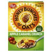 Post Honey Bunches of Oats Apple Caramel Crunch