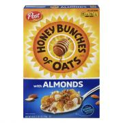 Post Honey Bunches of Oats w/Almonds Cereal