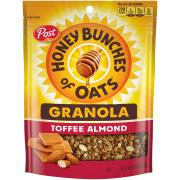 Post Honey Bunches Of Oats Granola Toffee Almond