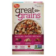 Post Selects Great Grains Raisin Date Pecan Cereal