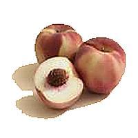 Organic White Peach