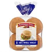 Pepperidge Farm Whole Wheat Hamburger Rolls