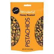 Wonderful No Shells Honey Roasted Pistachios