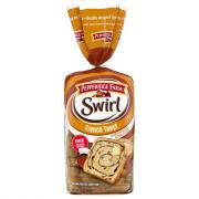 Pepperidge Farm French Toast Swirl Bread Thick Slice