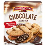 Pepperidge Farm Chocolate Collection 7 Cookies Varieties