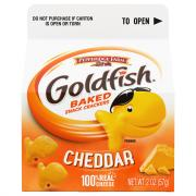 Pepperidge Farm Cheddar Goldfish Crackers