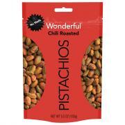 Wonderful No Shells Chili Roasted Pistachios