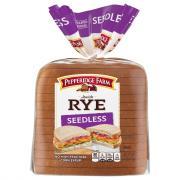 Pepperidge Farm Seedless Rye Bread
