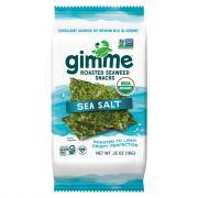 GimMe Organic Sea Salt Premium Roasted Seaweed