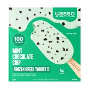 Yasso Mint Chocolate Chip Frozen Greek Yogurt Bars