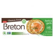 Dare Breto Gluten Free Herb & Garlic Crackers