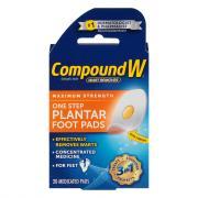Compound W One Step Plantar Pads