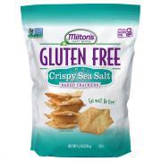 Milton's Gluten Free Crispy Sea Salt Crackers