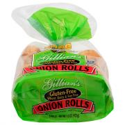 Gillian's Wheat Free Gluten Free Onion Rolls