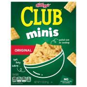 Keebler Minis Club Crackers