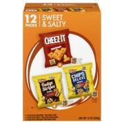 Keebler Variety Cheez-It, Mini Rainbow, & Mini Fudge Stripes