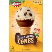 Keebler Fudge Dipped Cones