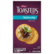 Keebler Buttercrisp Toasteds Crackers