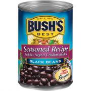 Bush's Best Seasoned Black Beans