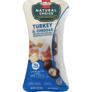 Hormel Natural Choice Turkey Breast and Mild White Cheddar