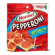 Hormel Less Fat Pillow Pack Pepperoni