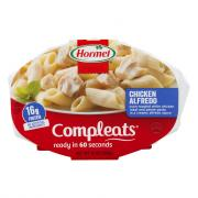Hormel Compleats Chicken Alfredo Microwave Bowl